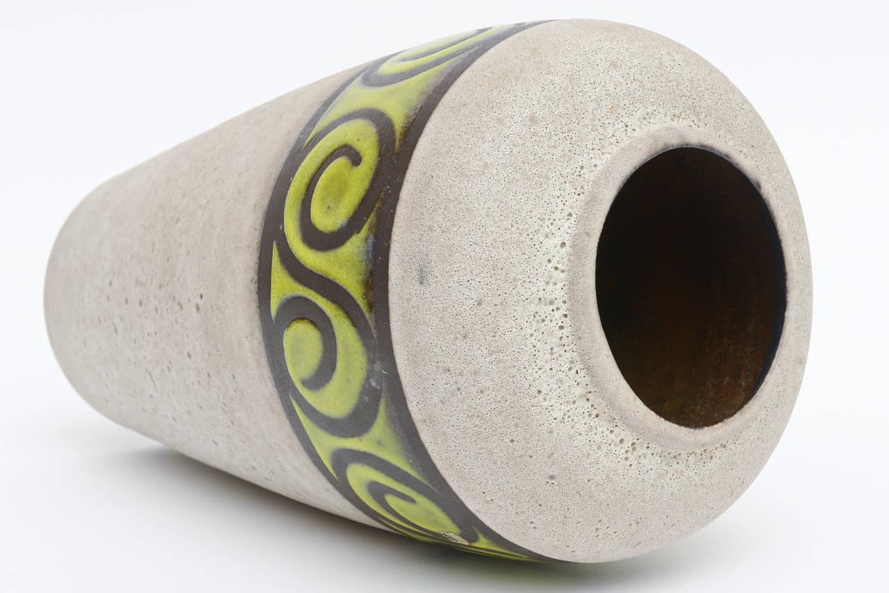 Western Germany Monumental Ceramic Vessel or Vase For Sale 6