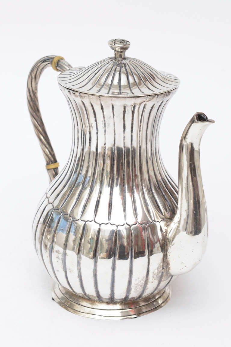 Signed Sterling Silver Hallmarked Sanborn Tea And Coffee