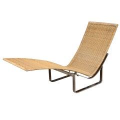 Vintage Poul Kjaerholm PK 24 Chaise Longue Lounge Chair/SAT.SALE