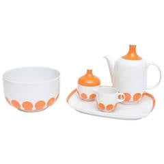 Early Rosenthal China Five-Piece Serving Set