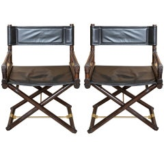 Pair of Campaign X Director's Chair / SATURDAY SALE