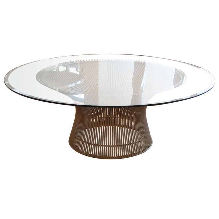 Warren Platner For Knoll Cocktail Table At 1stdibs