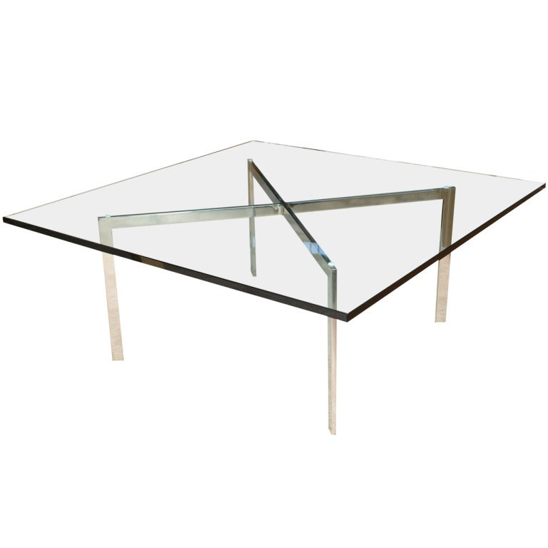 knoll mies van der rohe barcelona cocktail table saturday. Black Bedroom Furniture Sets. Home Design Ideas