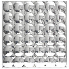 "Iconic Pop Art/Op Art Plexi ""36"" Bubbles Mirror"