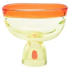 Italian Antonio da Ros for Cenedese Monumental Sommerso Glass Murano Vase
