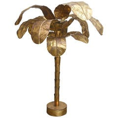 Brass Palm Tree