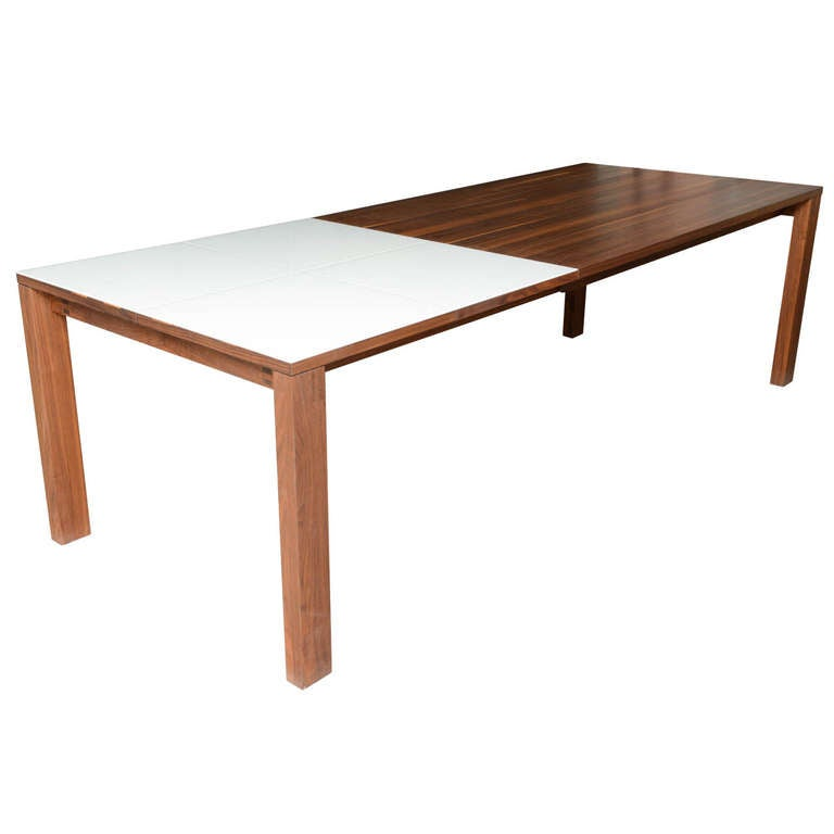 Drastic saturday sale reduction austrian dining table for Built in dining table