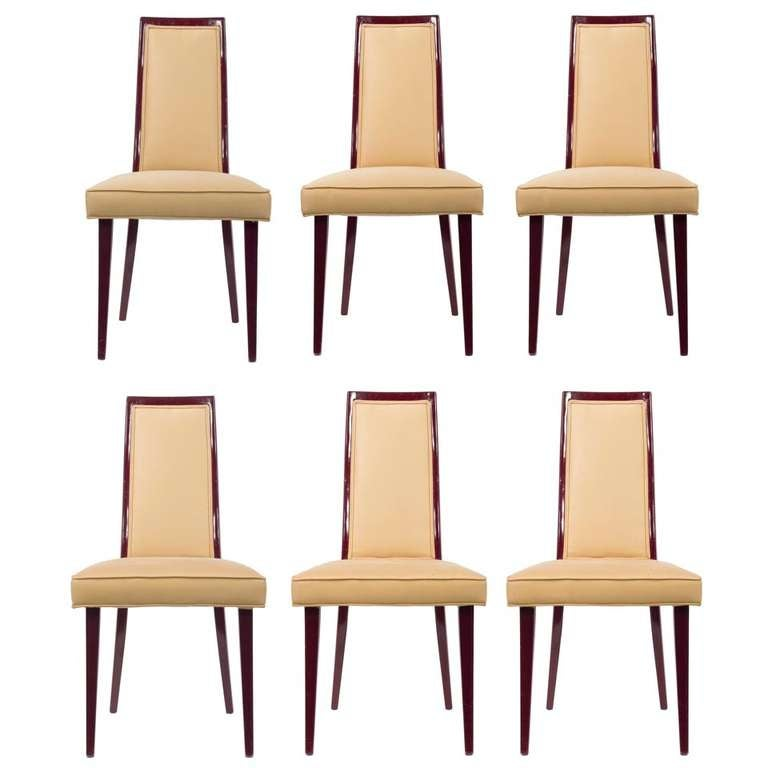 Set of Harvey Probber Dining Chairs at 1stdibs : 1017772l from www.1stdibs.com size 768 x 768 jpeg 37kB