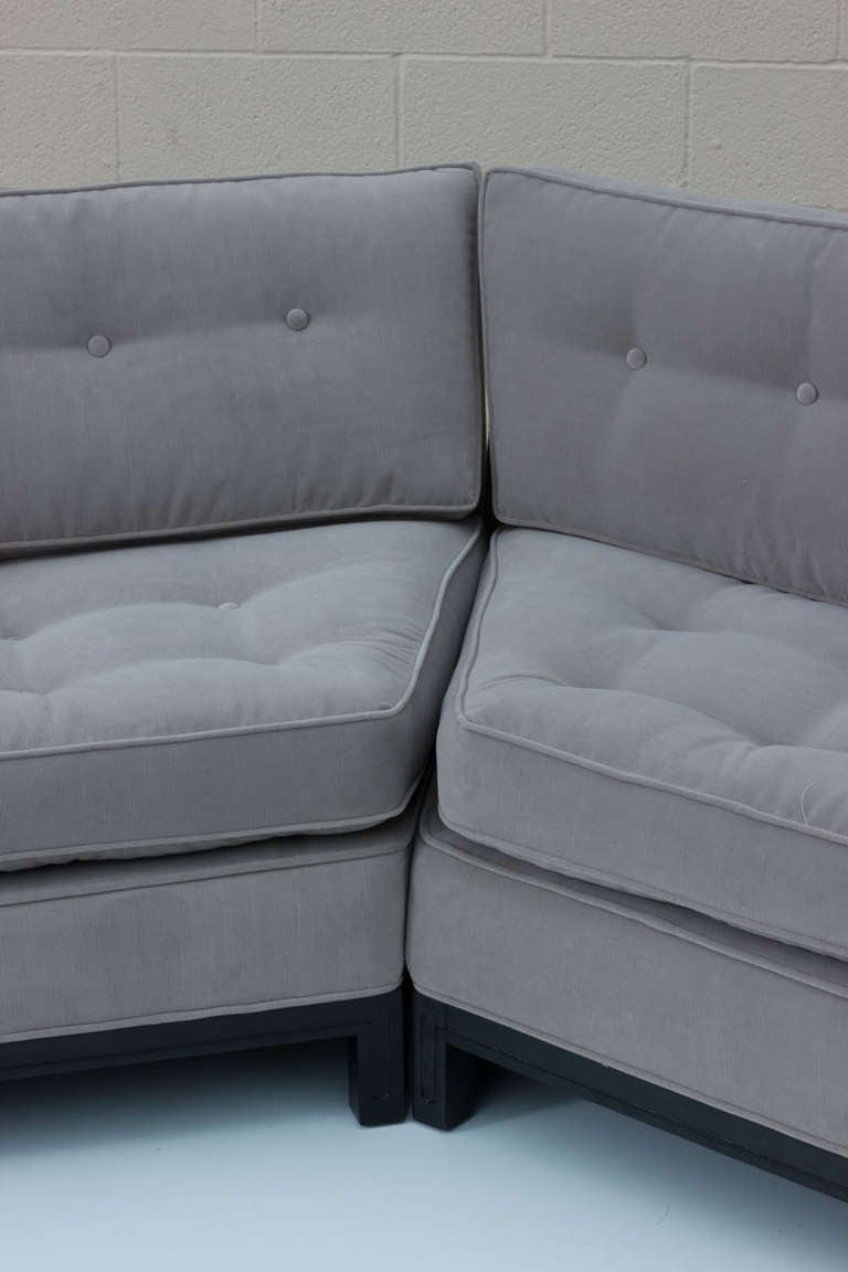 45 Degree Sectional Sofa Images Light Blue Leather