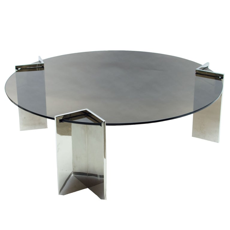 Coffee Table Sets Leons: 1970's Leon Rosen Coffee Table At 1stdibs