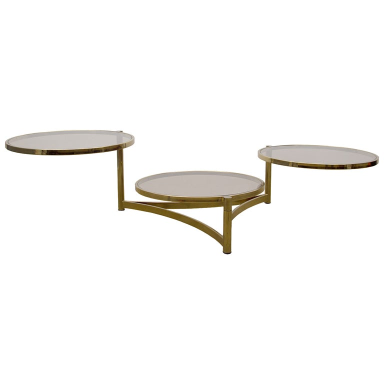 swivel pods cocktail table at 1stdibs