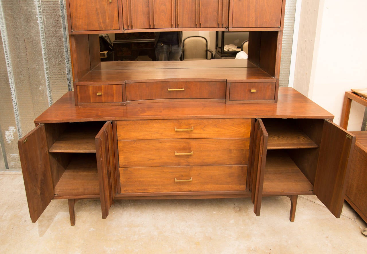Richardson Nemsschoff Break Front Cabinet At 1stdibs