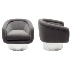 Leon Rosen Lounge Chairs