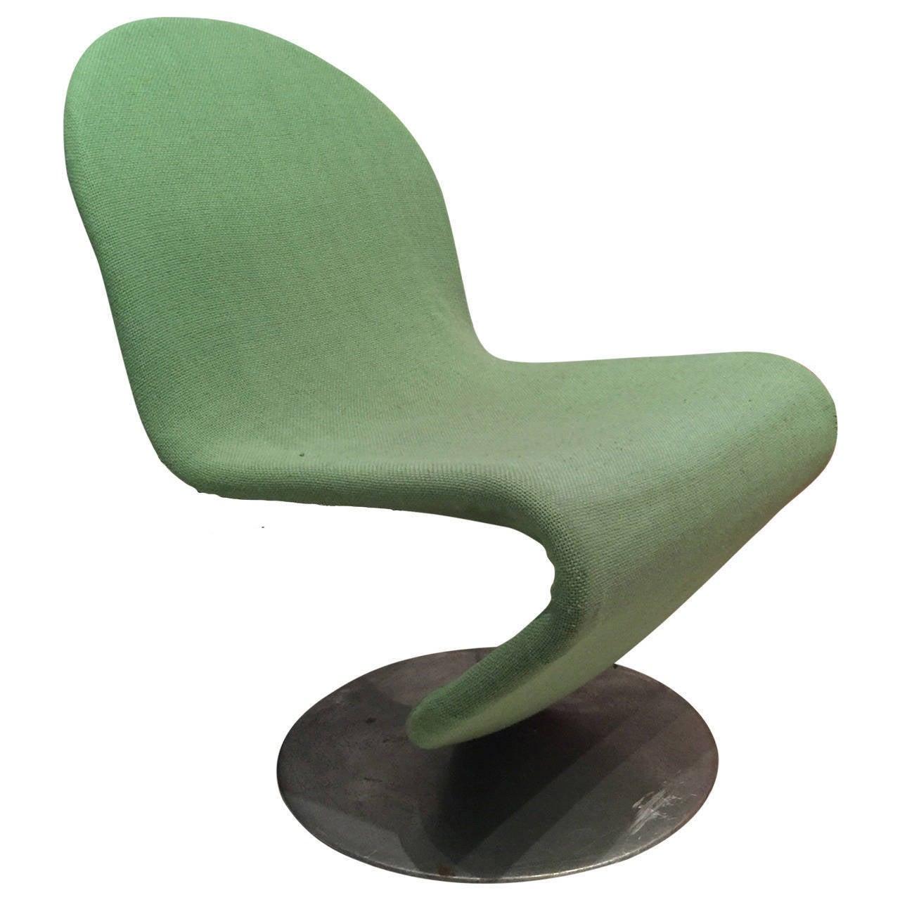 verner panton system 1 2 3 chair at 1stdibs. Black Bedroom Furniture Sets. Home Design Ideas