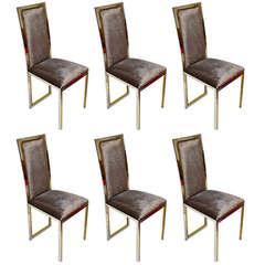 1970's  Romeo Rega Dining Chairs