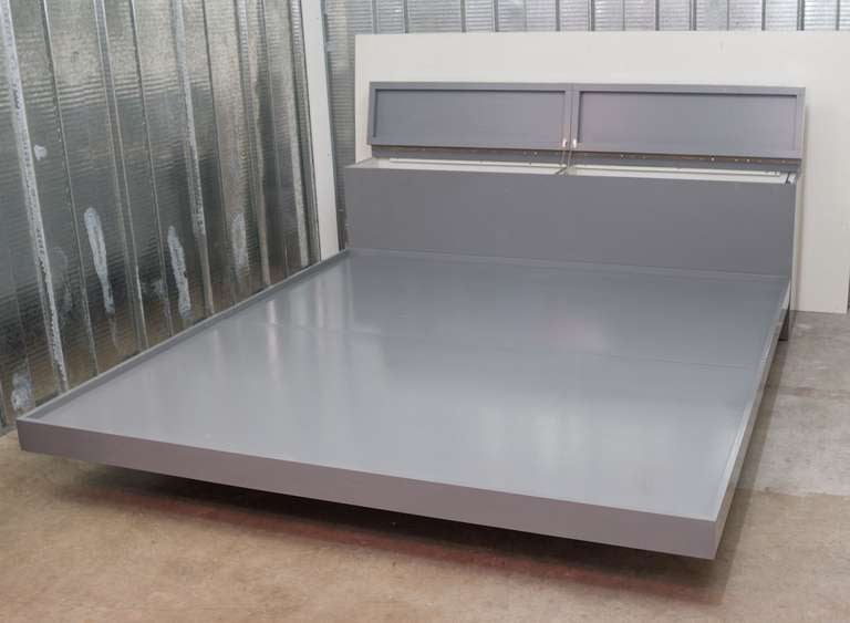pierre cardin king size platform bed 5