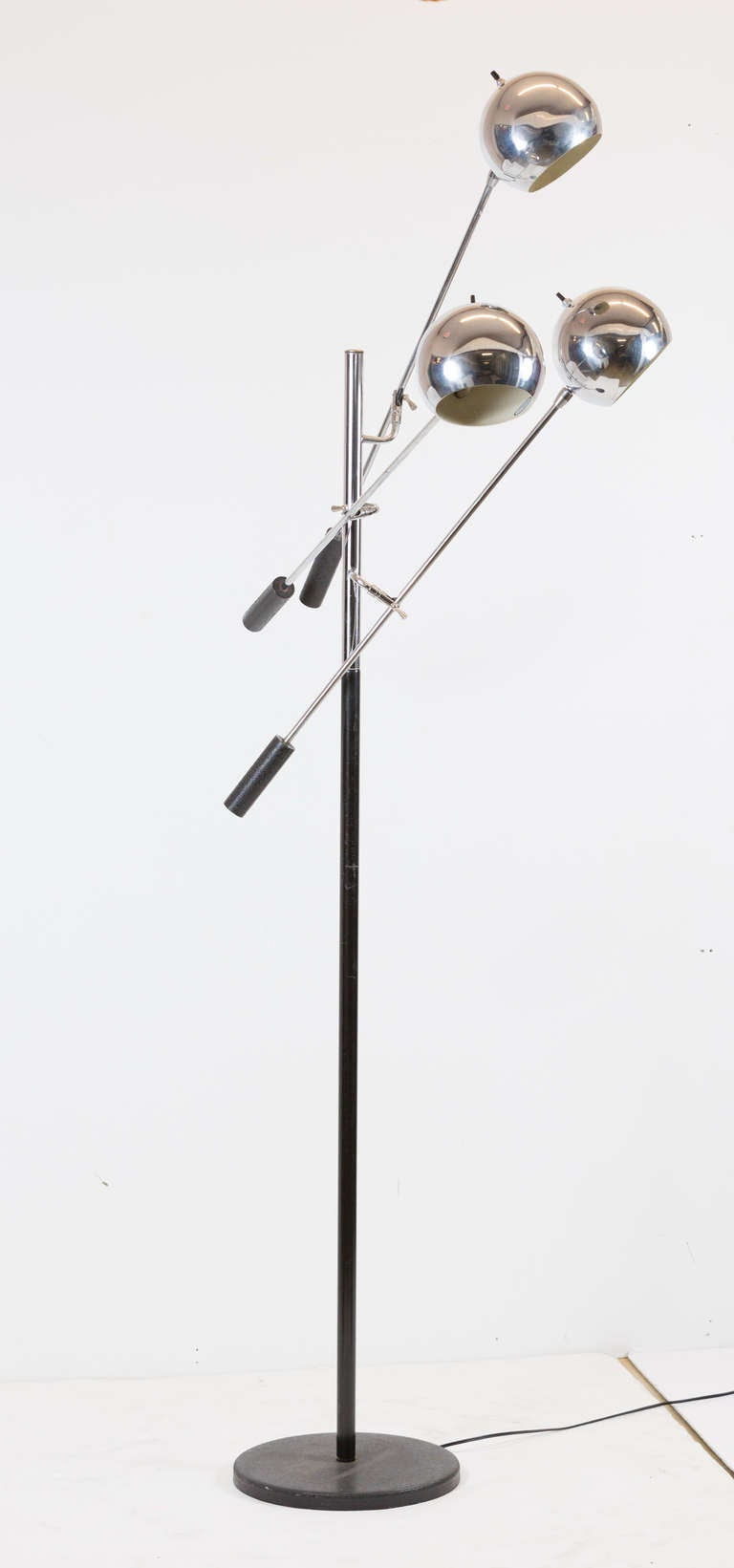 orbiter floor lamp by robert sonneman at 1stdibs