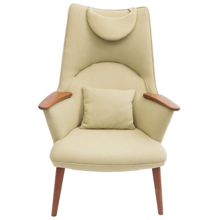 1950 S Quot Mama Bear Quot Chair By Hans J Wegner At 1stdibs