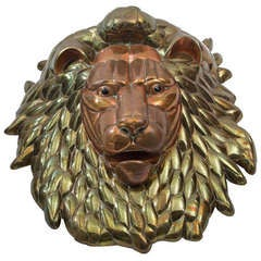 1980's Lion Head by Sergio Bustamante