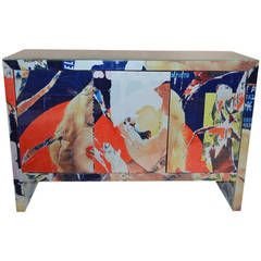 """Marilyn Monroe"" Cabinet by Mimmo Rotella"