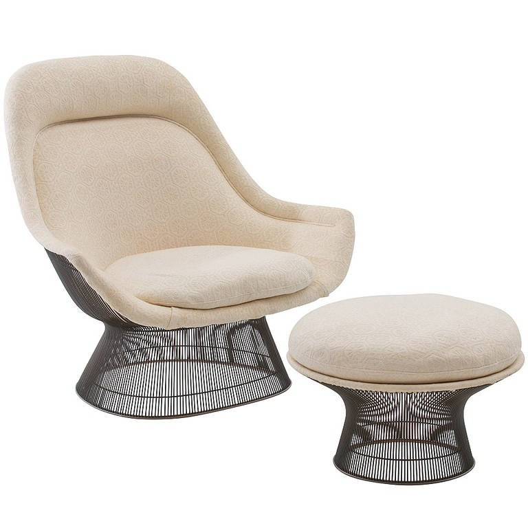 Warren Platner Lounge Chair And Ottoman For Knoll