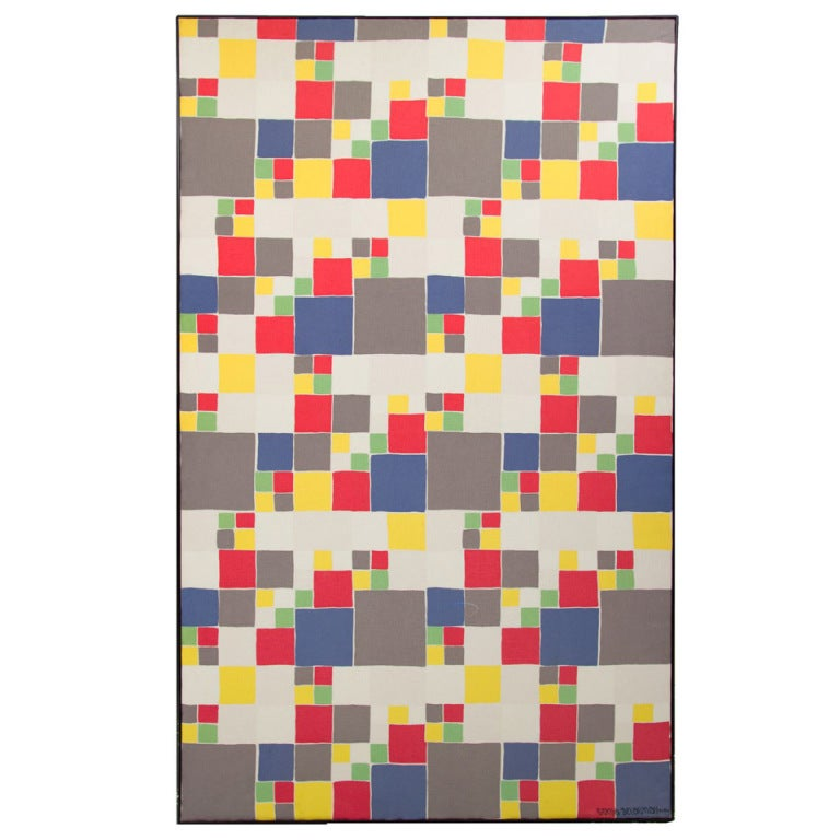 Sonia delaunay abstraction geometrique at 1stdibs for Abstraction geometrique