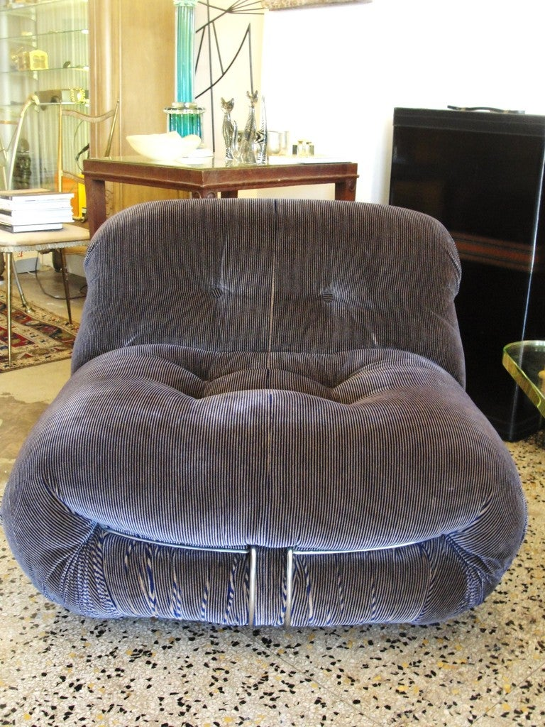 Pair of Vintage Tobia Scarpa Soriana Chairs image 4