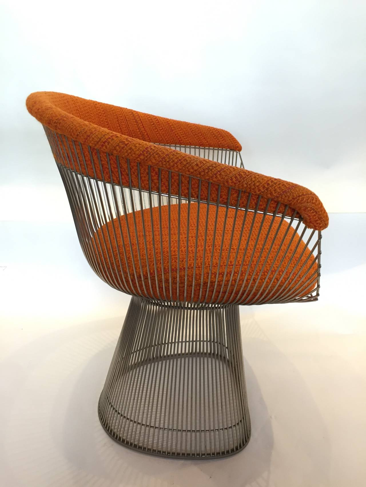 Vintage Warren Platner for Knoll Armchair In Excellent Condition In East Hampton, NY