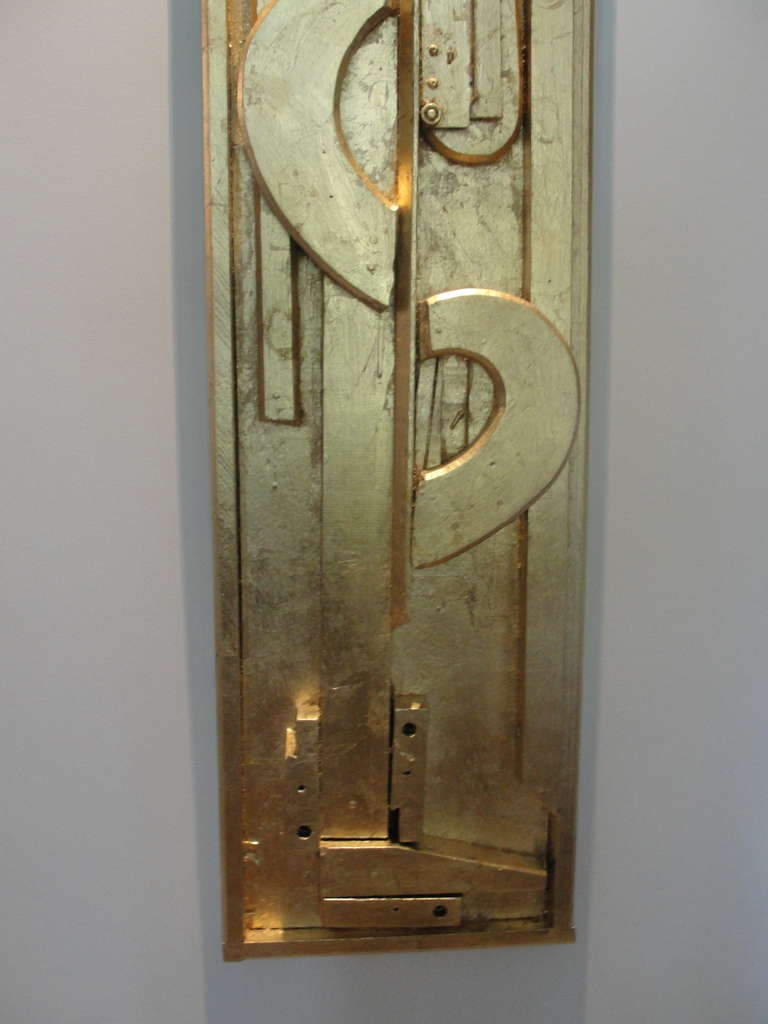 20th Century Incredible Wall Art Sculpture in the Manner of L. Nevelson For Sale