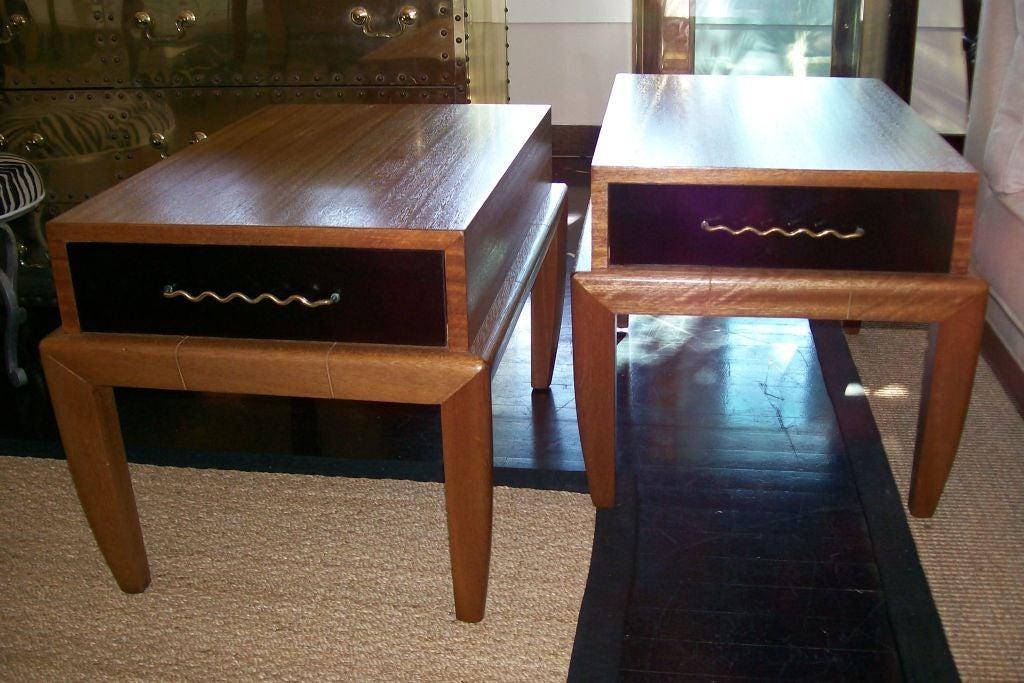 American Original All Vintage Side-Tables by John Keal for Brown Saltman For Sale