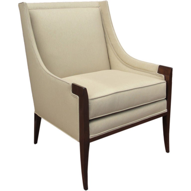 a luxurious and tailored single armchair at 1stdibs