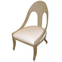 Michael Taylor for Baker Vintage Spoon-Back Chair