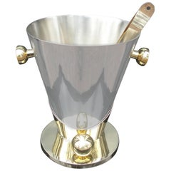 Art Deco Inspired Champagne Cooler/ Ice Bucket