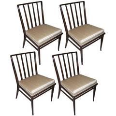 Set of 4 T.H. Robsjohn-Gibbings Dining Chairs