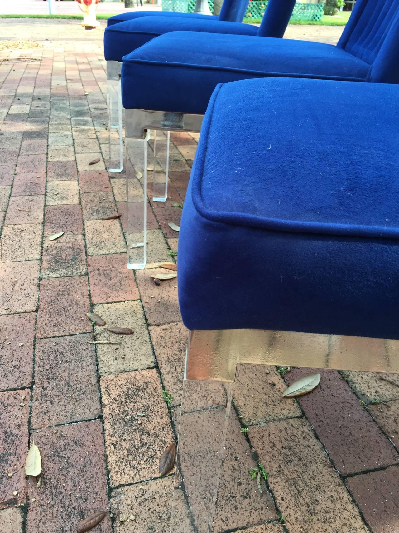 Set of Four Charles Hollis Jones Dining Chairs 5
