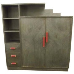 An Art Deco Library Cabinet by Karl Maes