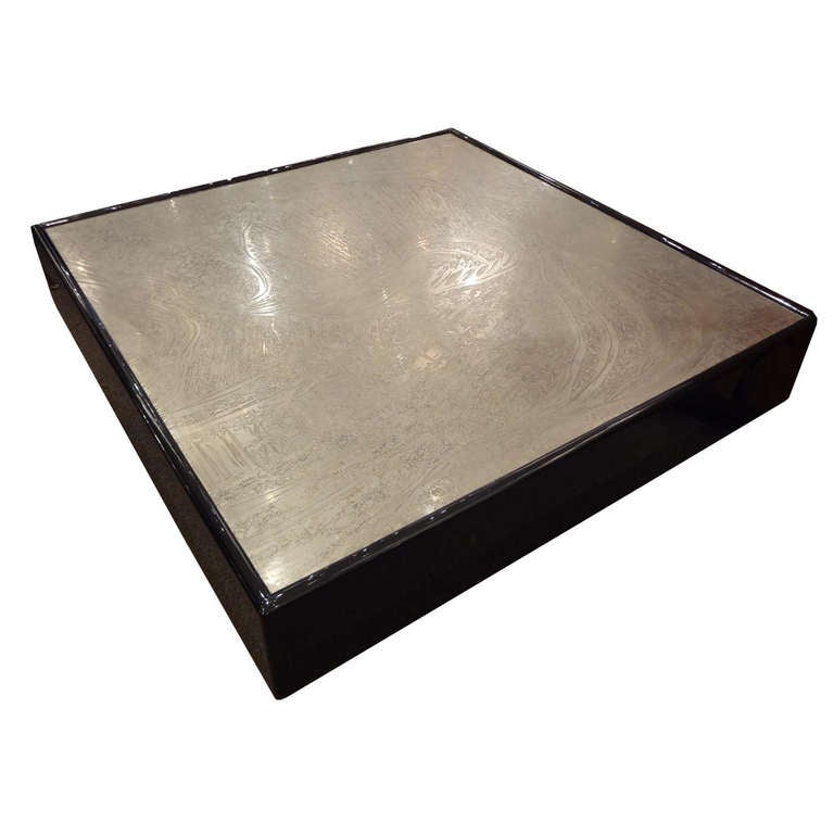 Romy Square Metal Coffee Table Am Pm: Escalade Square Cocktail Table