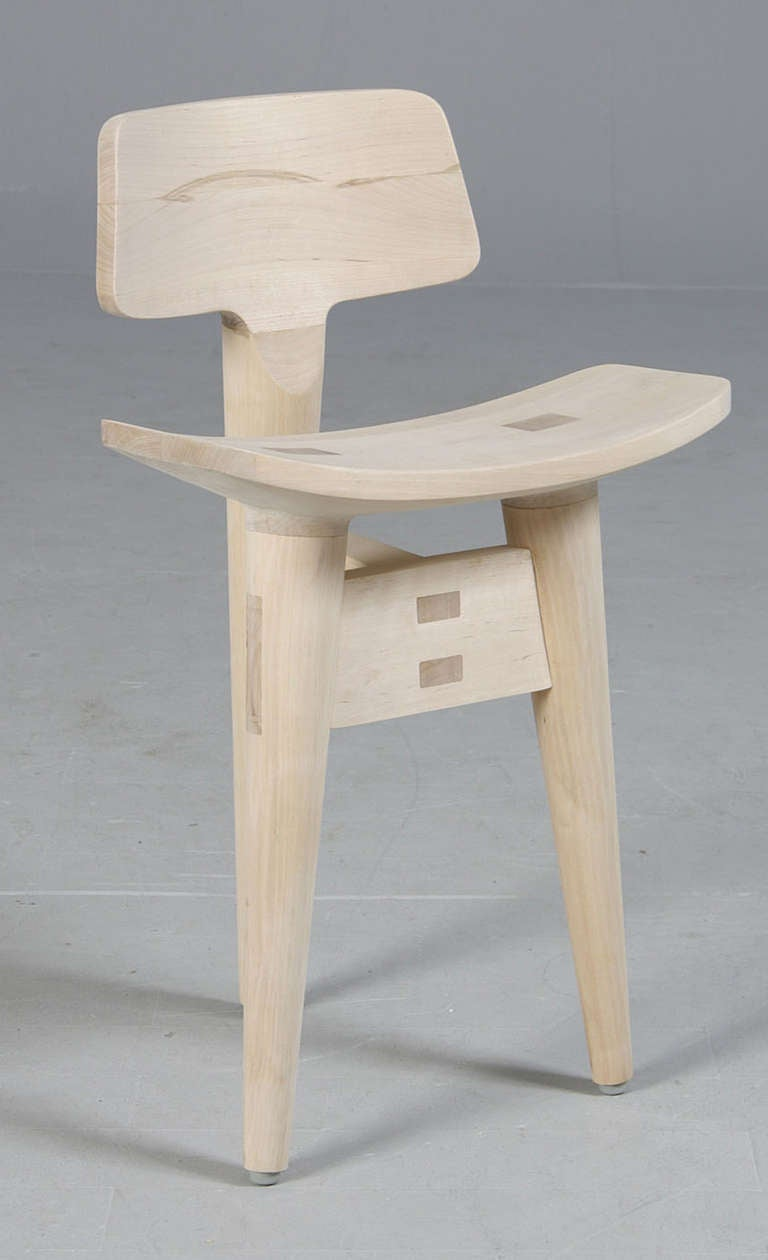 Mid-Century Modern Danish Sculptural Sculptor's Stool by Jens Harald Quistgaard For Sale