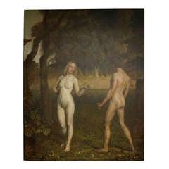 Adam & Eve by Julius Paulsen
