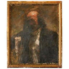 Portrait of a Gentleman by Danish Painter Julius Paulsen