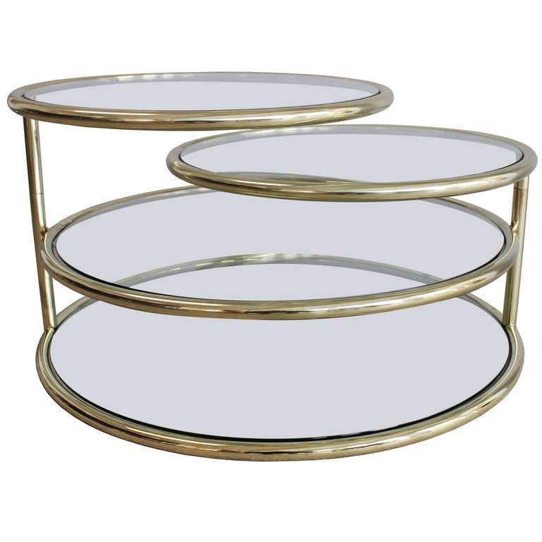 Four Tier Swivel Coffee Table 1