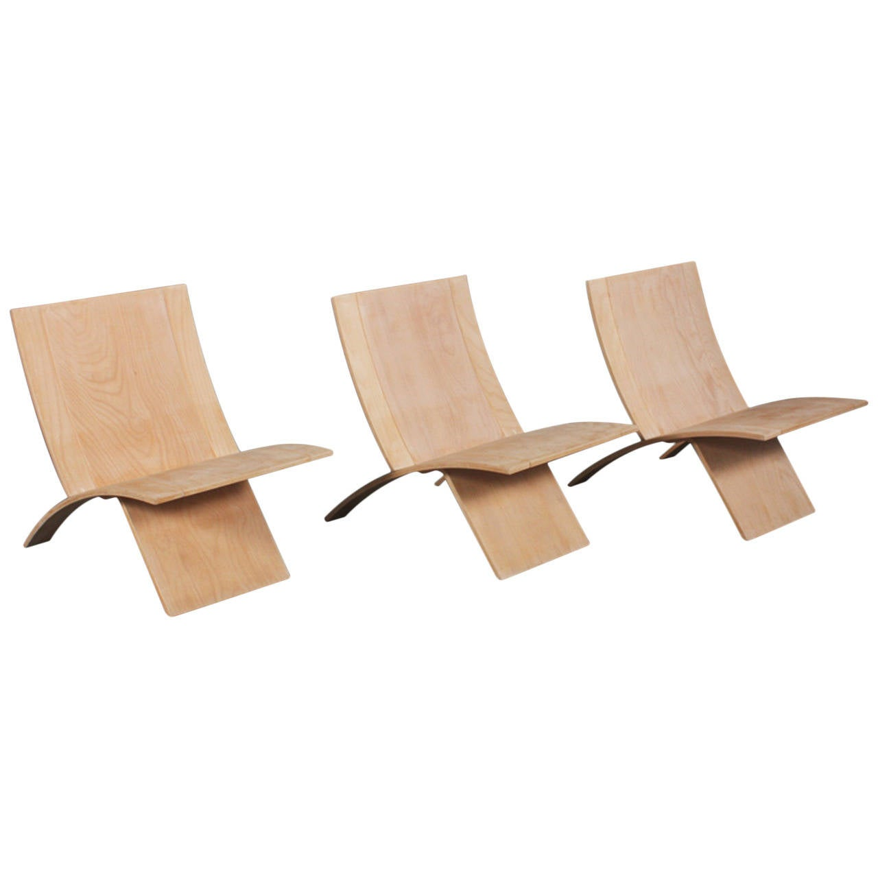 Three Danish Laminex Folding Chairs by Jens Nielsen For Sale