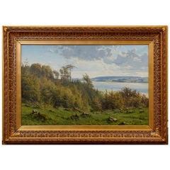 19th Century, Landscape by Johannes Boesen