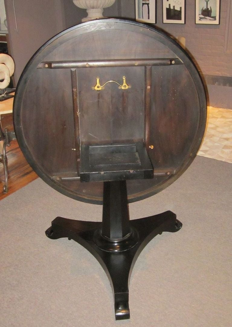 1840 english center side table at 1stdibs for Html table center