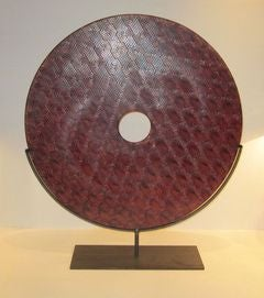Chinese  Extra Large Jade Disc