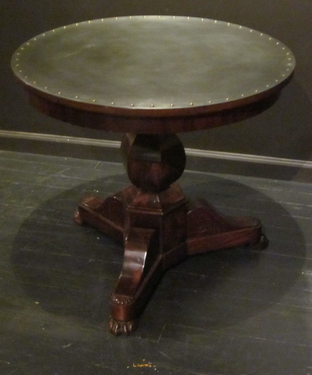 Steel-Top Antique Gueridon, France, 19th Century For Sale 1