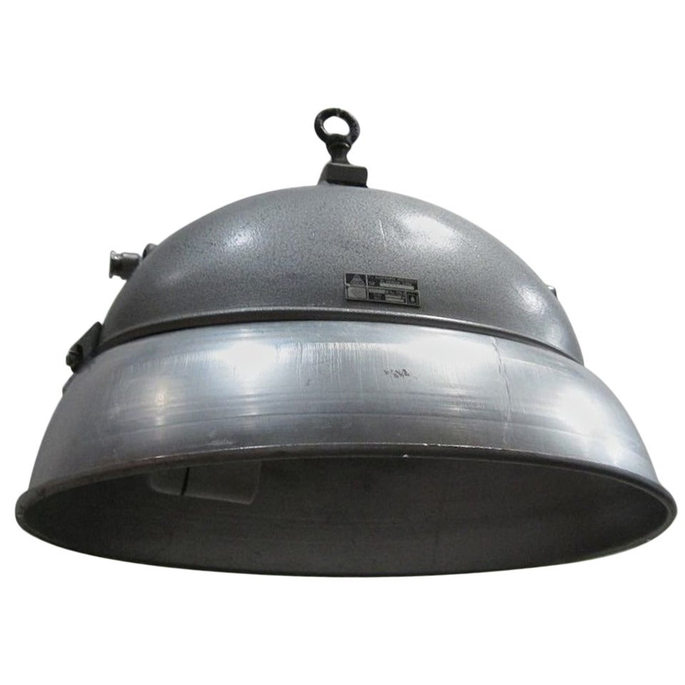 Industrial Metal Light, The Netherlands, Circa 1940s For