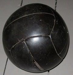 1920's English Black Leather Balls