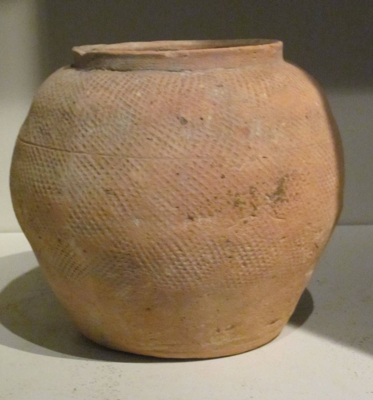 Textured Terra Cotta Pots, North Vietnam, 19th Century For Sale 1