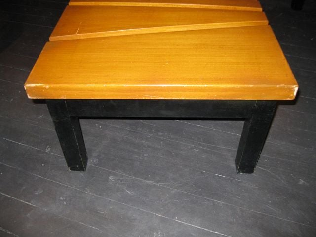 1950 39 S French Pyramid Coffee Table At 1stdibs